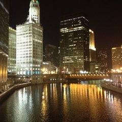Photo taken at Chicago Riverwalk by Abdulrahman A. on 11/28/2012