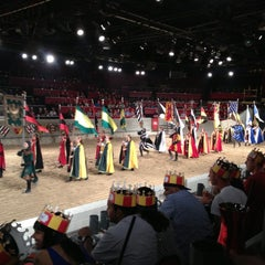 Photo taken at Medieval Times by Rosani R. on 6/23/2013
