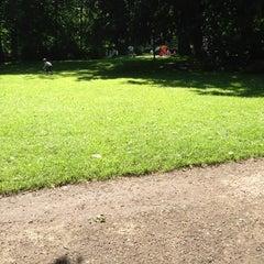 Photo taken at Muinkpark by Inge 🎀 B. on 7/9/2013