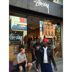 Photo taken at Stussy New York by Ryohei F. on 9/28/2014