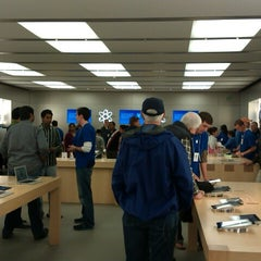 Photo taken at Apple Store, Pheasant Lane by Raja N. on 10/8/2012