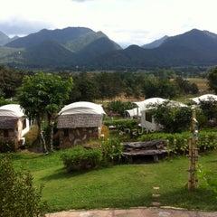 Photo taken at Mari - Pai Resort by J K. on 12/1/2013