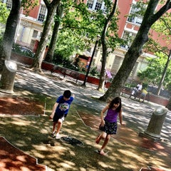 Photo taken at Sara Delano Roosevelt Park Playground by @cfnoble on 6/2/2013