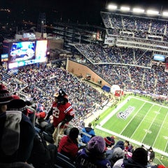 Photo taken at Gillette Stadium by @cfnoble on 1/20/2013