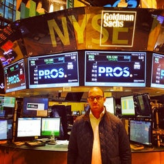 Photo taken at NYSE Euronext by Justin A. on 2/20/2014