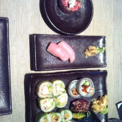 Photo taken at Sushi Shop by Xristina X. on 8/6/2013