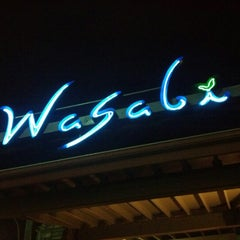 Photo taken at Wasabi Japanese Steakhouse by Gregory T. on 11/28/2012