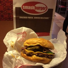 Photo taken at Smashburger by Chris H. on 12/11/2014