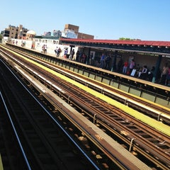 Photo taken at MTA Subway - 30th Ave (N/Q) by Steve A. on 6/15/2013