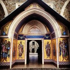 Photo taken at Kykkos Monastery by Tatiana F. on 11/17/2013
