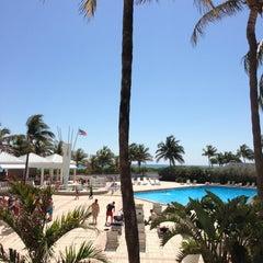 Photo taken at Deauville Beach Resort by Beto G. on 3/21/2013