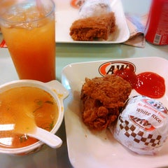 Photo taken at A&W by Raster A. on 6/6/2014