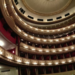 Photo taken at Wiener Staatsoper by coldwellm on 12/22/2012