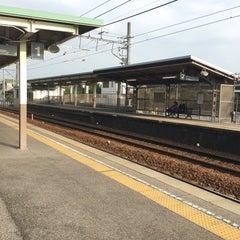 Photo taken at 男川駅 (Otogawa Sta.) by Tommy M. on 10/22/2015