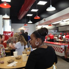 Photo taken at Five Guys by Ben D. on 9/28/2012