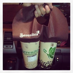 Photo taken at Serenitea by rotrot glee s. on 3/2/2013