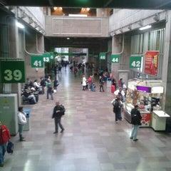 Photo taken at Terminal Rodoviário Tietê by Amanda R. on 7/26/2013