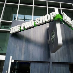 Photo taken at The Pro Shop at CenturyLink Field by Allan C. on 6/8/2013