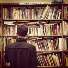 Photo taken at Mercer Street Books by Valentina M. on 12/2/2012