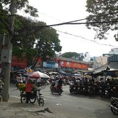 Photo taken at Nguyen Tri Phuong Market by Bao N. on 12/1/2013