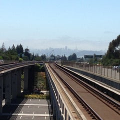 Photo taken at Rockridge BART Station by Sevana T. on 6/15/2013