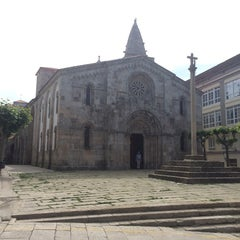 Photo taken at Colexiata de Santa María do Campo by Artem T. on 6/2/2014