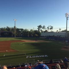 Photo taken at McKethan Stadium at Perry Field by j r. on 3/15/2016