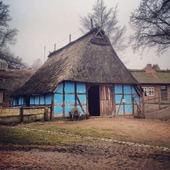 Photo taken at Freilichtmuseum am Kiekeberg by Sebastian T. on 3/3/2013