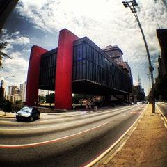 Photo taken at Museu de Arte de São Paulo (MASP) by Ricardo P. on 12/1/2012