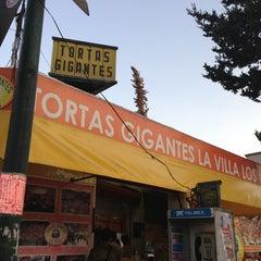 Photo taken at Tortas Gigantes la Villa by Noe M. on 3/24/2013