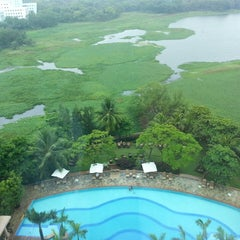 Photo taken at Renaissance Mumbai Convention Centre Hotel by Arijit M. on 6/9/2013