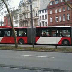 Photo taken at H Hansemannplatz by Tobias on 1/7/2013