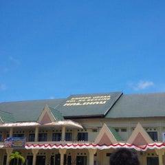 Photo taken at Bandara Kol. RA. Bessing Malinau by Capitano A. on 8/31/2013