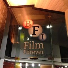 Photo taken at BFI Southbank by Alan S. on 12/14/2012