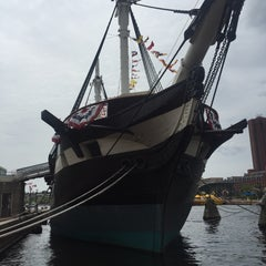 Photo taken at Historic Ships in Baltimore by Daniella C. on 8/19/2015