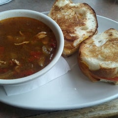 Photo taken at Panes Bread Cafe by Michael T. on 9/21/2012