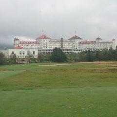 Photo taken at Mount Washington Resort Golf Club by Michael B. on 9/1/2013