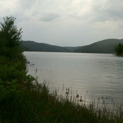Photo taken at Tygart Lake State Park by Mike A. on 8/7/2013