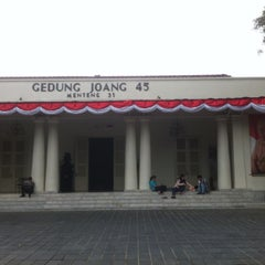 Photo taken at Museum Gedung Joang '45 by Winny M. on 8/14/2015