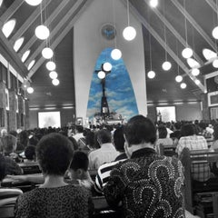 Photo taken at Gereja Katolik Roh Kudus by Livi B. on 12/1/2013