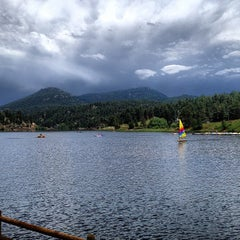 Photo taken at Evergreen Lakehouse by Joshua C. on 7/10/2013