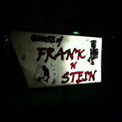 Photo taken at House of Frank N Stein by John G. on 1/14/2013