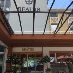 Photo taken at Wellness- & Spa-Hotel Beatus by ️Nedaa B. on 6/13/2015