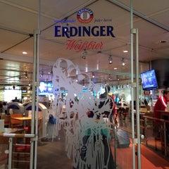 Photo taken at Erdinger Weißbier Sportsbar by Athanasios B. on 3/11/2014