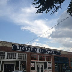 Photo taken at Bishop Arts District by Chris H. on 6/16/2013