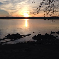 Photo taken at Esopus Lighthouse Park by Shelby S. on 4/20/2014