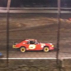 Photo taken at Barona Speedway & Dragstrip by Jason M. on 7/26/2014