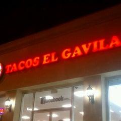 Photo taken at Tacos El Gavilan by Elvy R. on 12/8/2012