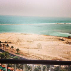 Photo taken at Le Méridien Dead Sea by Dmitriy B. on 12/1/2013