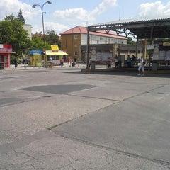 Photo taken at Autobusová stanica Nitra by Rasto L. on 7/16/2013